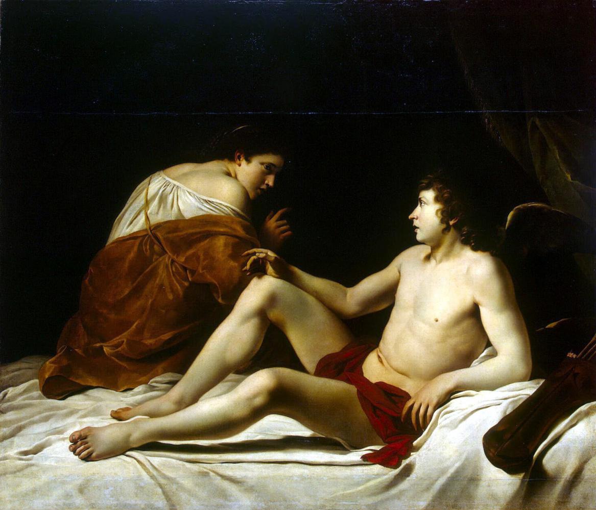 Orazio Gentileschi. Cupid and Psyche