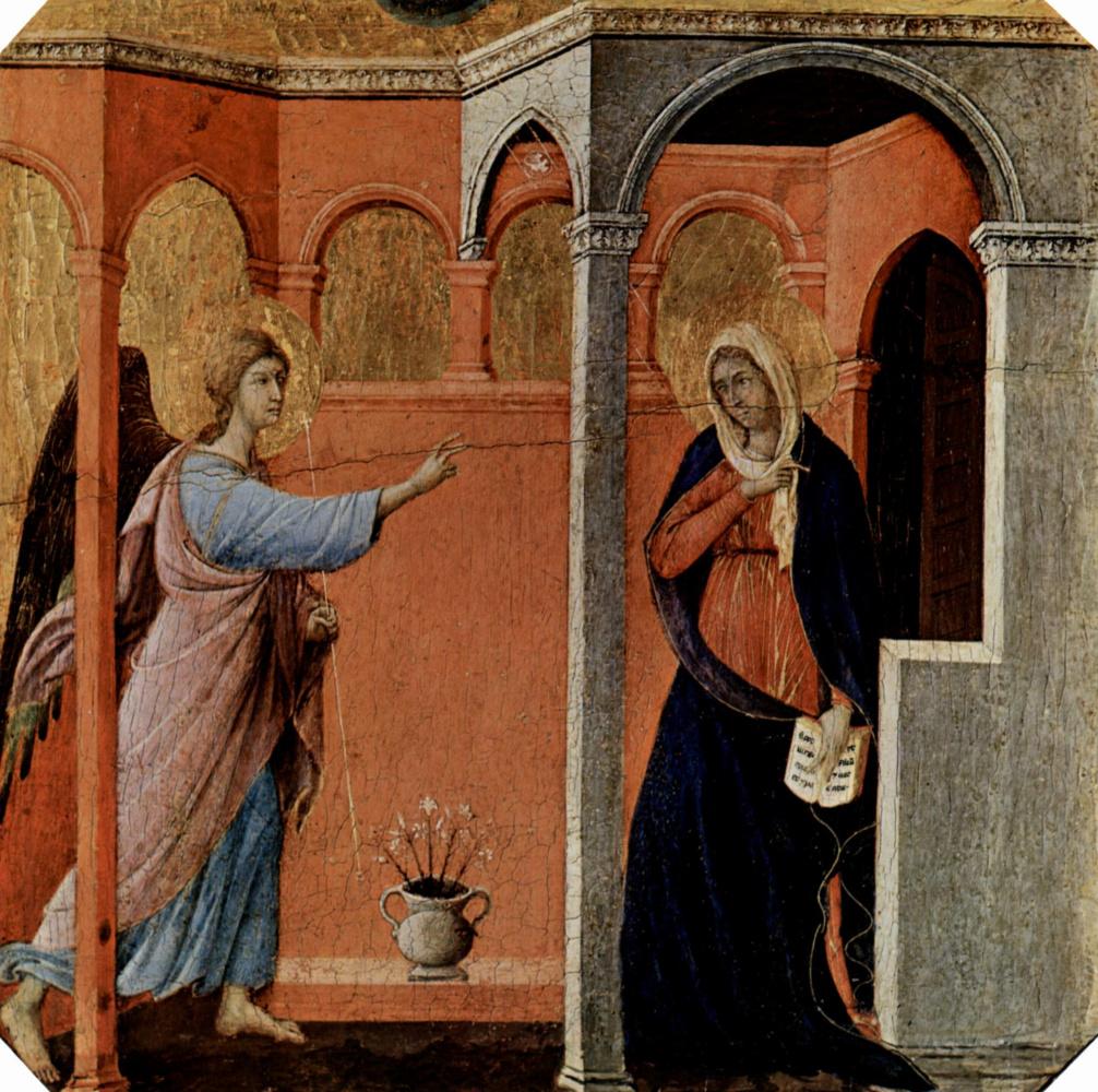 Дуччо ди Буонинсенья. Маэста, алтарь сиенского кафедрального собора