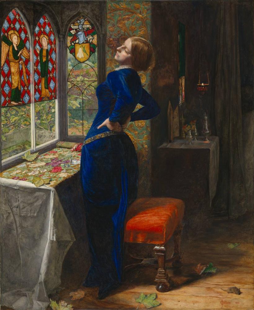 John Everett Millais. Mariana