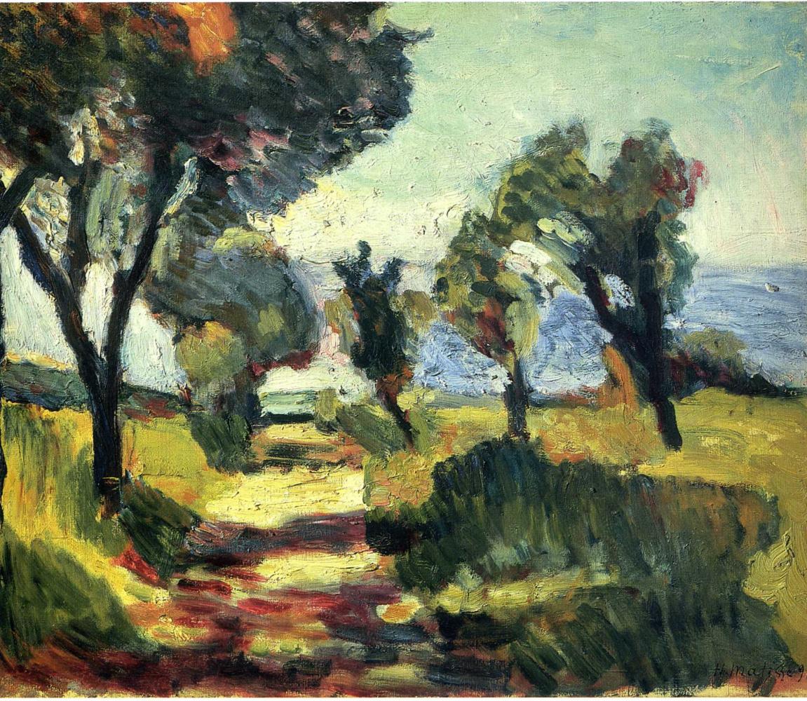 Анри Матисс. Оливковые деревья
