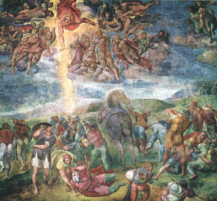 Микеланджело Буонарроти. Обращение Савла.