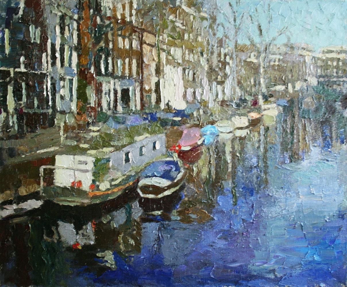 Mikhail Rudnik. Spring in Amsterdam