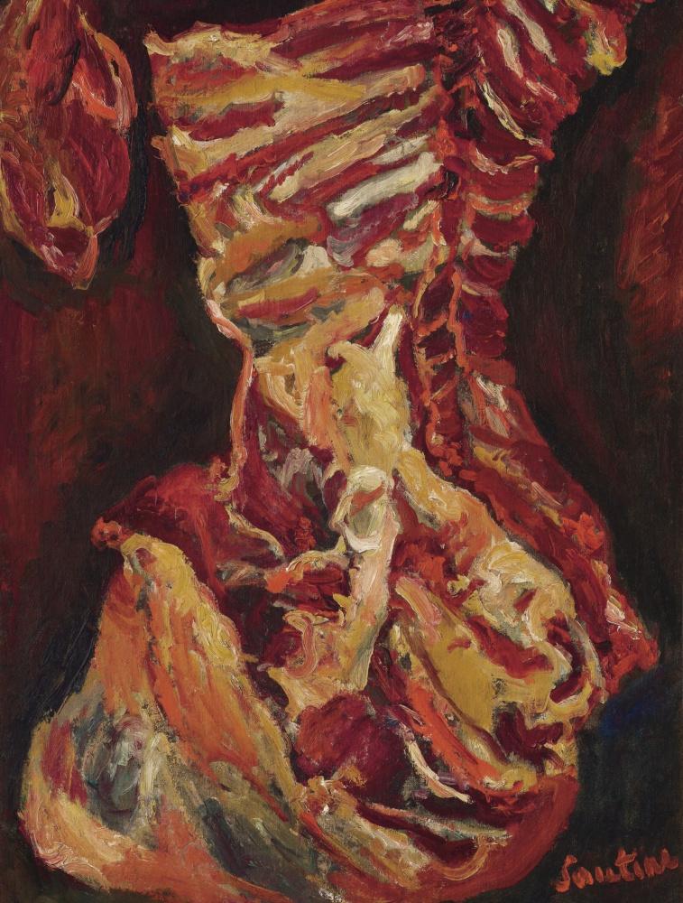 Chaim Soutine. Beef carcass