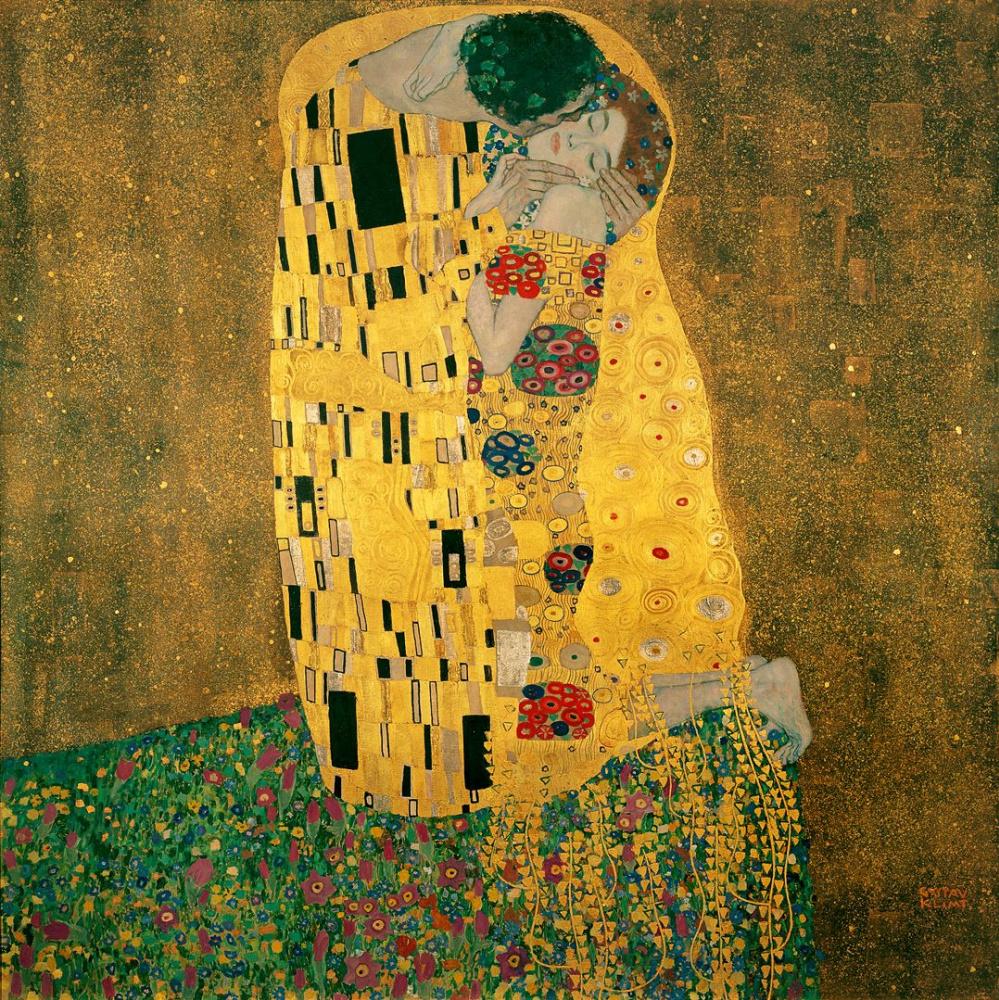 Густав Климт. Поцелуй