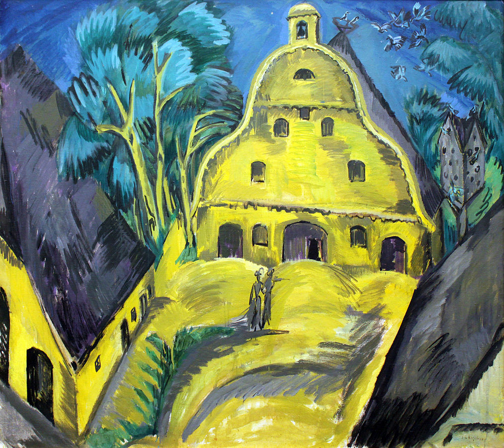 Ernst Ludwig Kirchner. House on the island of Fehmarn