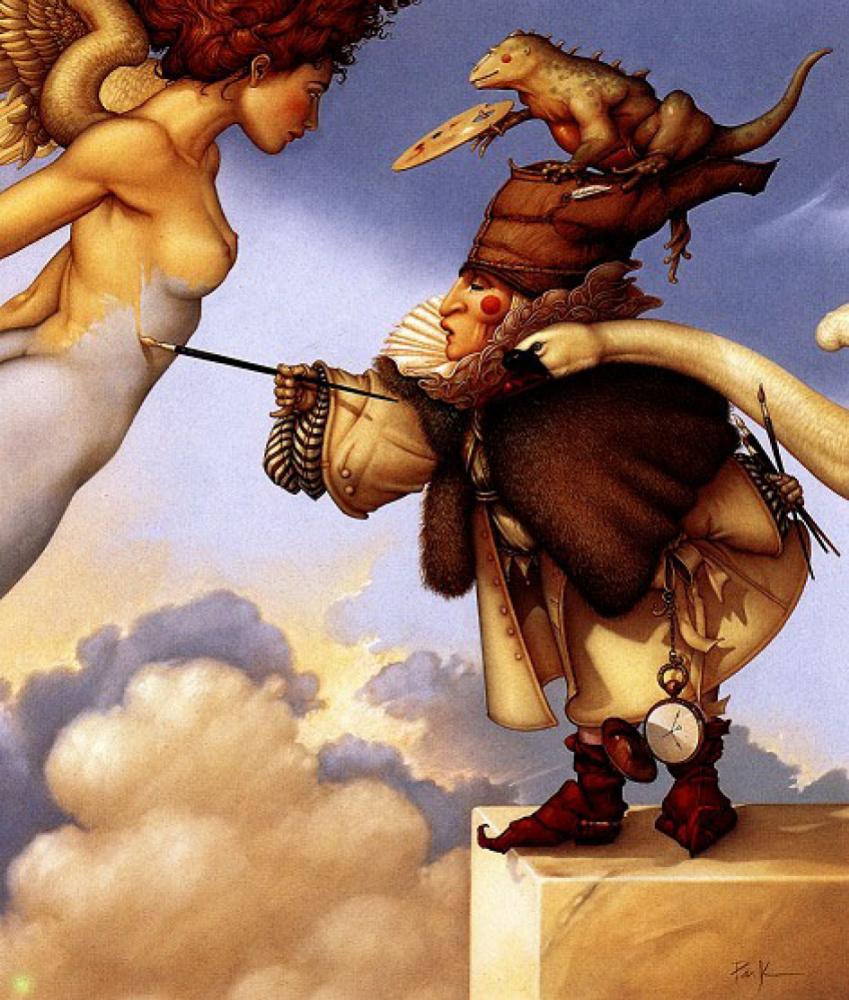 Майкл Паркес. Мастер Небесной живописи