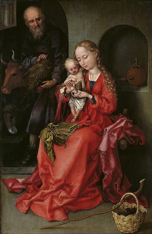 Martin Schongauer. Holy family