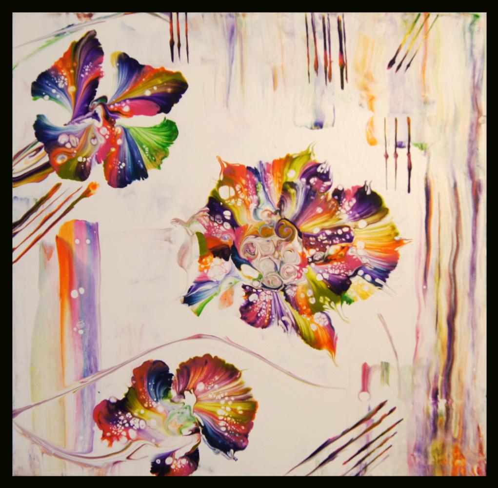 Elena Köhler. Regenbogenblumen