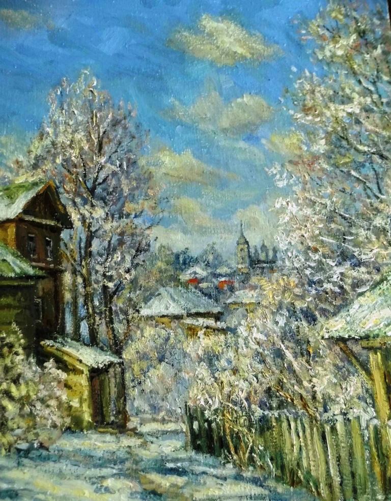 Victor Vladimirovich Kuryanov. Winter morning