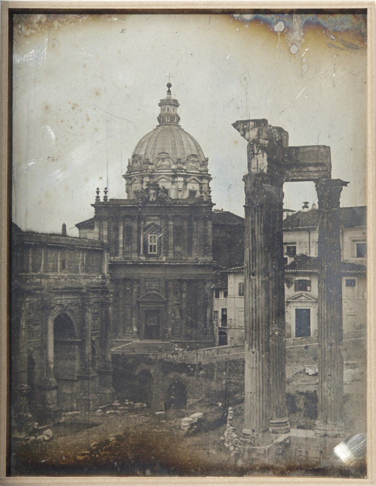 Joseph-Philibert Giraud de Prandje. Temple of Vespasian, Rome