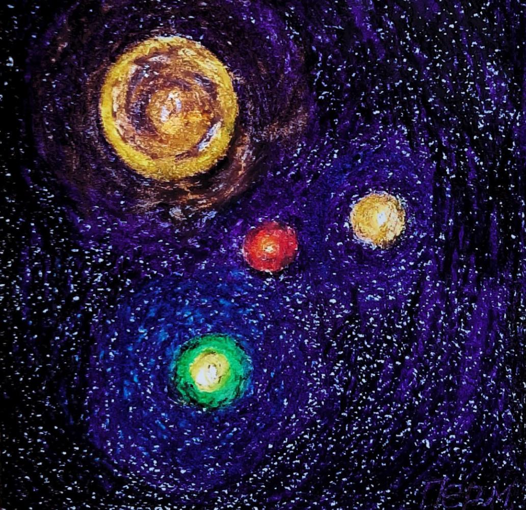Alexey Kazakov. The three spheres of the sunwell