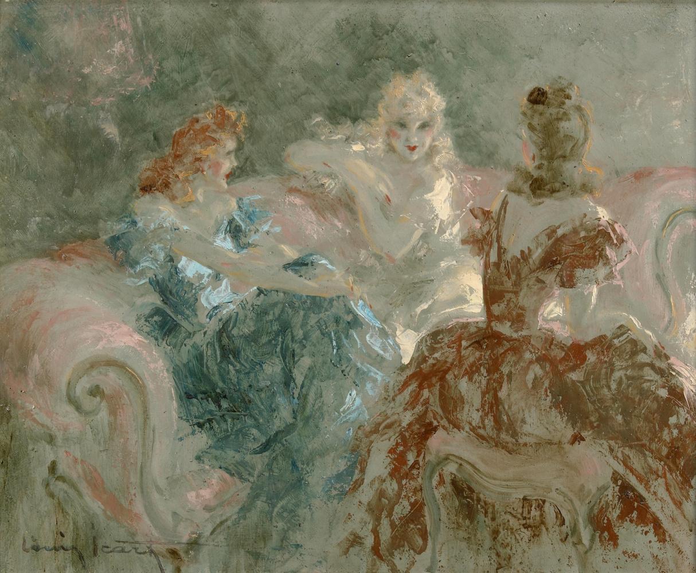 Icarus Louis France 1888 - 1950. Women's party.