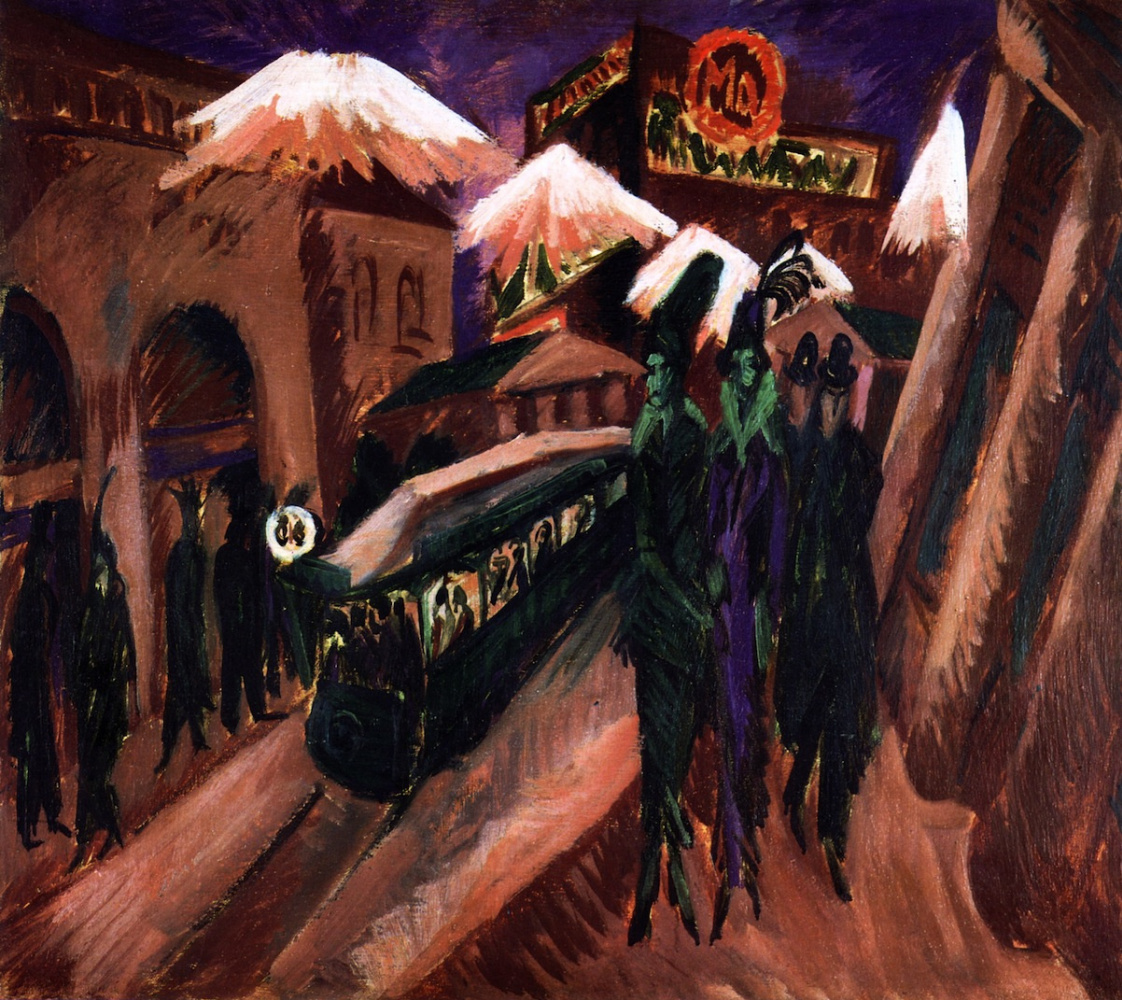 Ernst Ludwig Kirchner. The Streets Of Leipzig