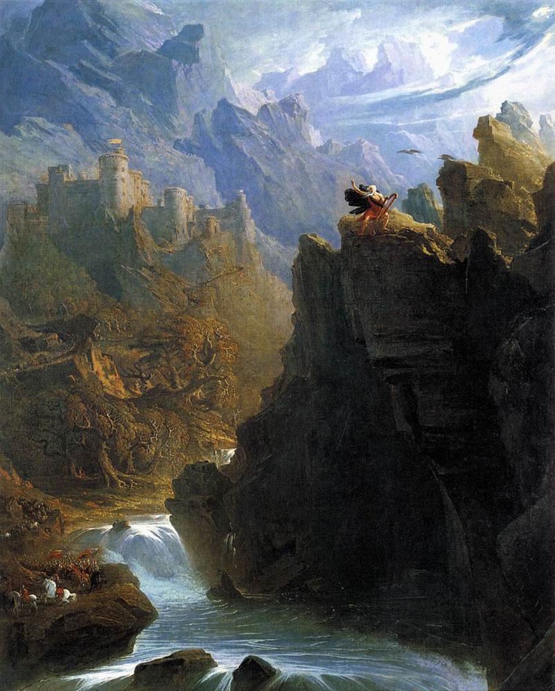 John Martin. The mountains