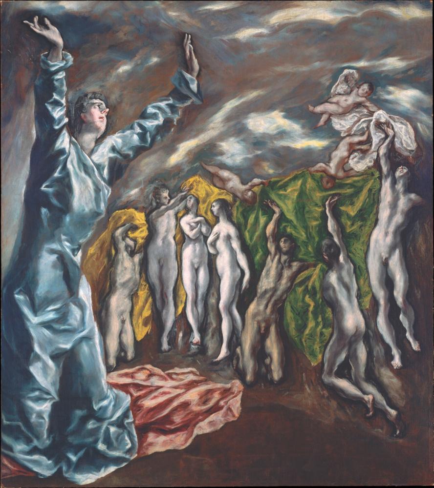 Эль Греко (Доменико Теотокопули). Открытие пятой печати (видение святого Иоанна Богослова)