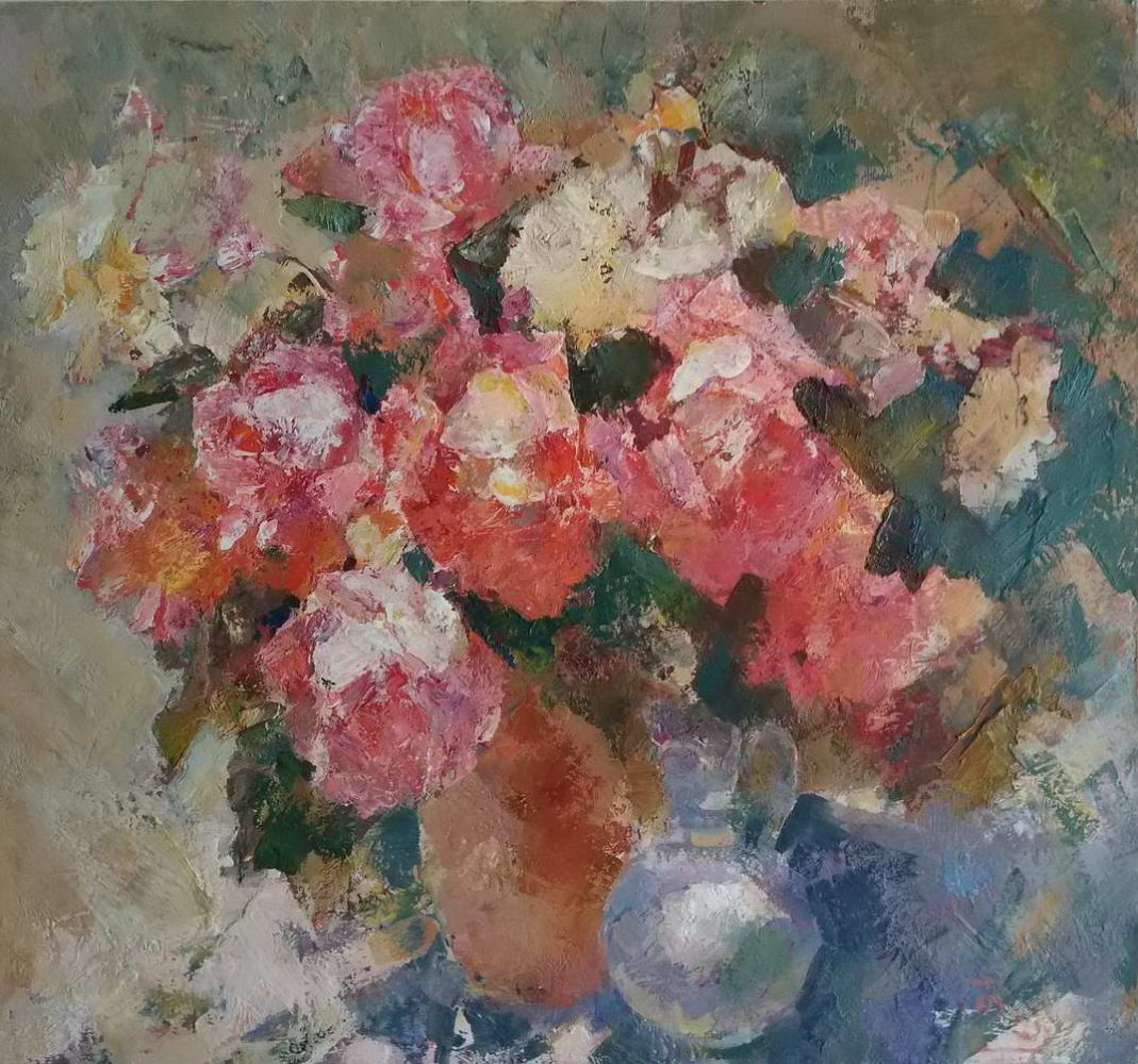 Unknown artist. Roses