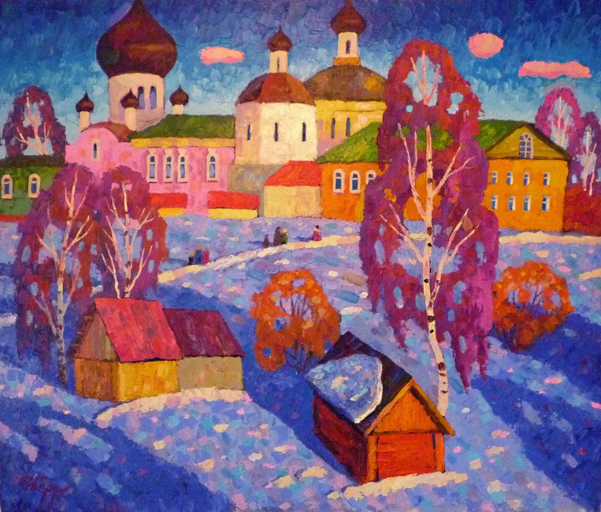 Igor Zagrievich Berdyshev. Davidova desert