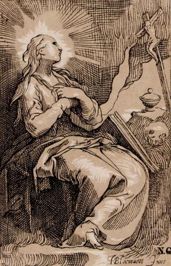 Абрахам Блумарт. Святая Мария Магдалина