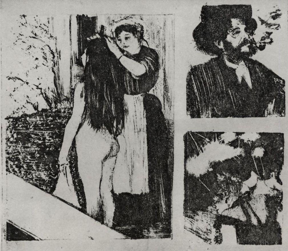 Эдгар Дега. Три мотива: Туалет, Портрет Марселлена Дебутена и Концерт в кафешантане