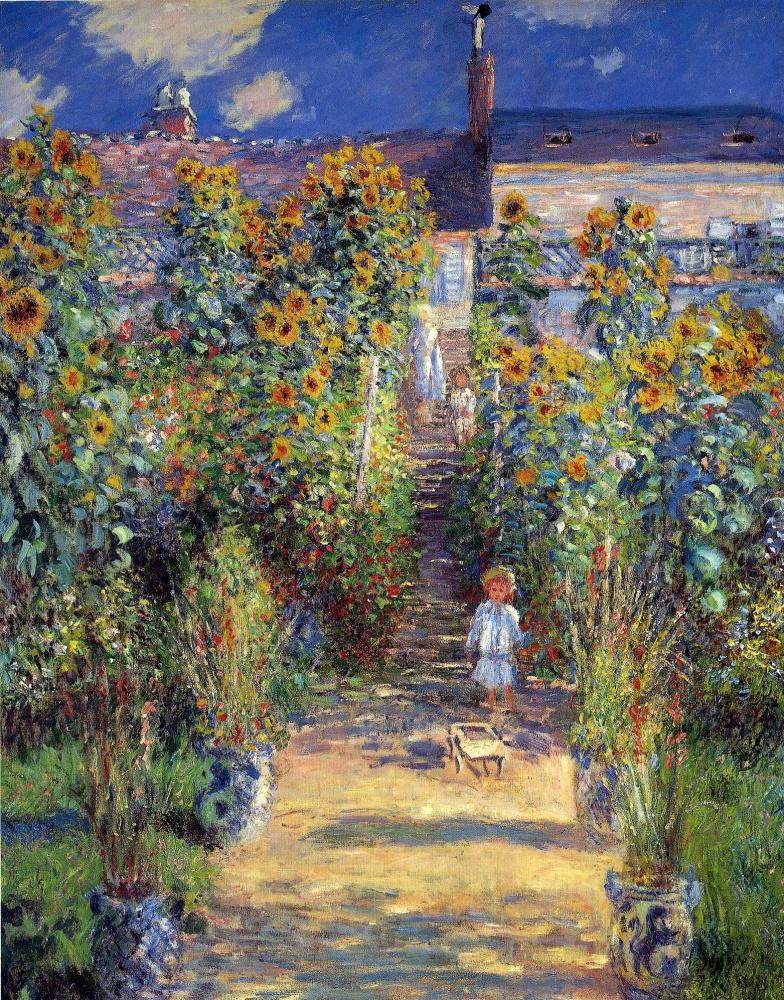 Claude Monet. Jardin de l'artiste à Vétheuil