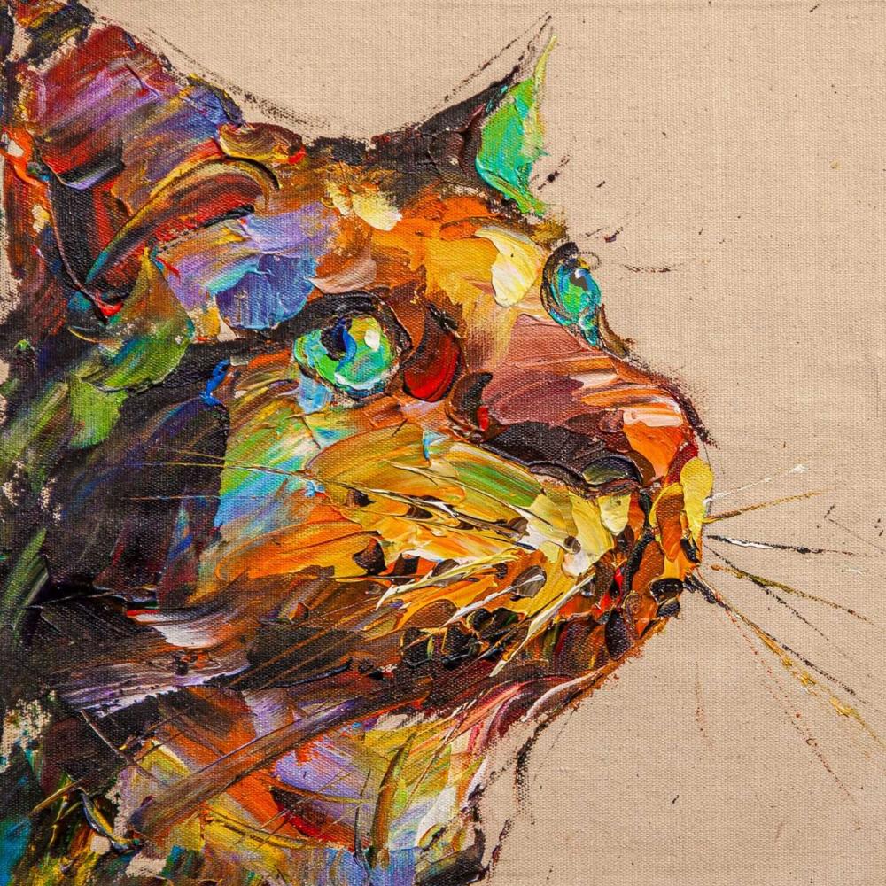 Jose Rodriguez. Сами с усами. Портрет кота