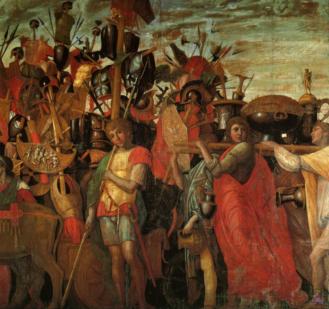 Andrea Mantegna. The Triumph Of Caesar