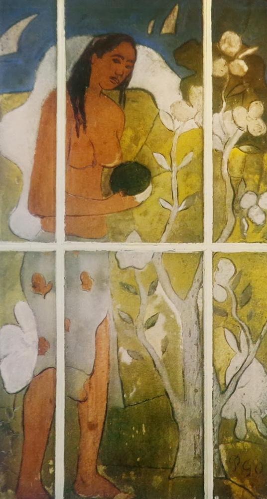 Paul Gauguin. Eva with Apple