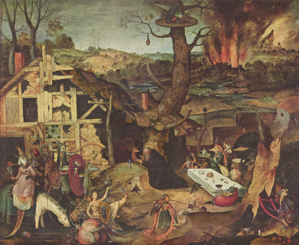 Peter Hayes. The temptation of St. Anthony