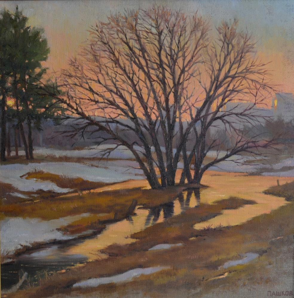 Dmitry Nikolayevich Pashkov. Ice melted