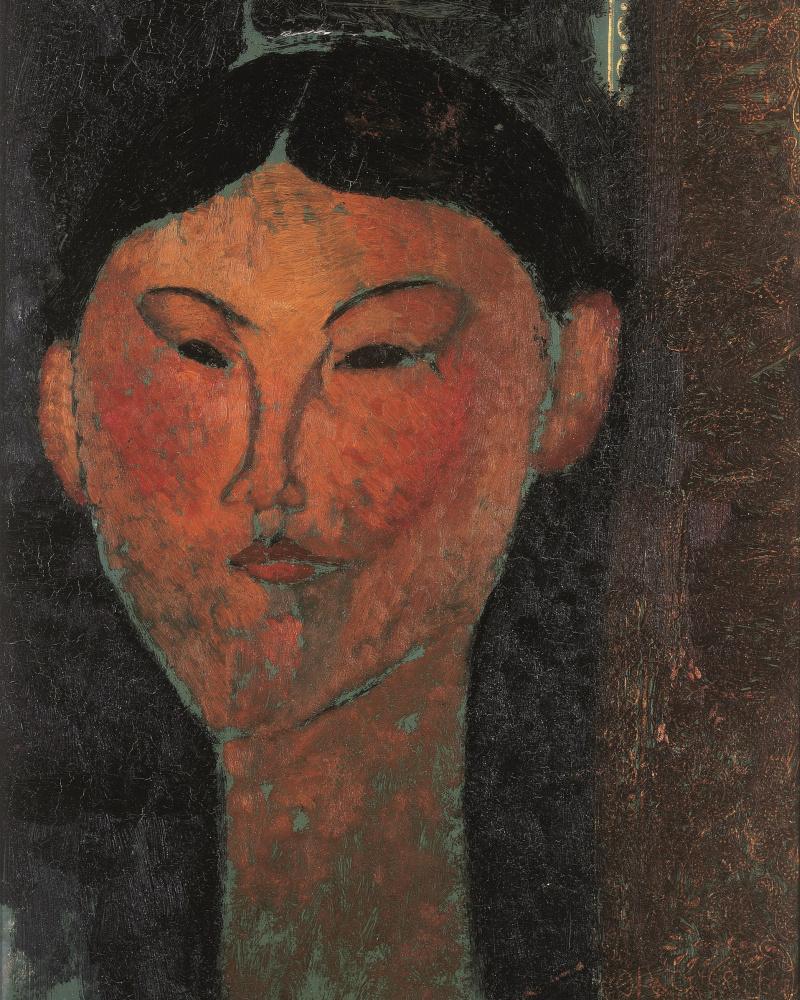Amedeo Modigliani. Beatrice Hastings