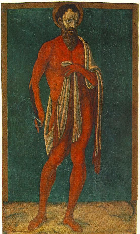 Matteo di Giovanni. The Apostle Saint Bartholomew