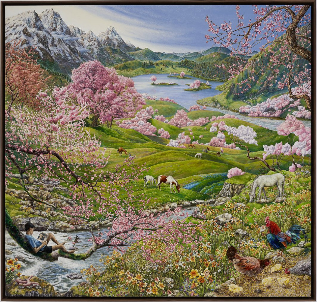 "Rakib Shaw. The Four Seasons, ""Spring"""