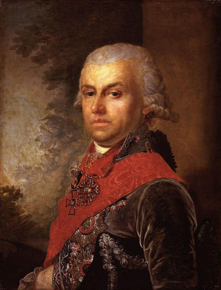 Владимир Лукич Боровиковский. Портрет Д.П. Трощинского
