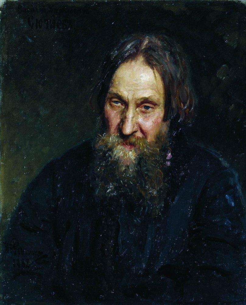 Илья Ефимович Репин. Портрет Василия Кирилловича Сютаева
