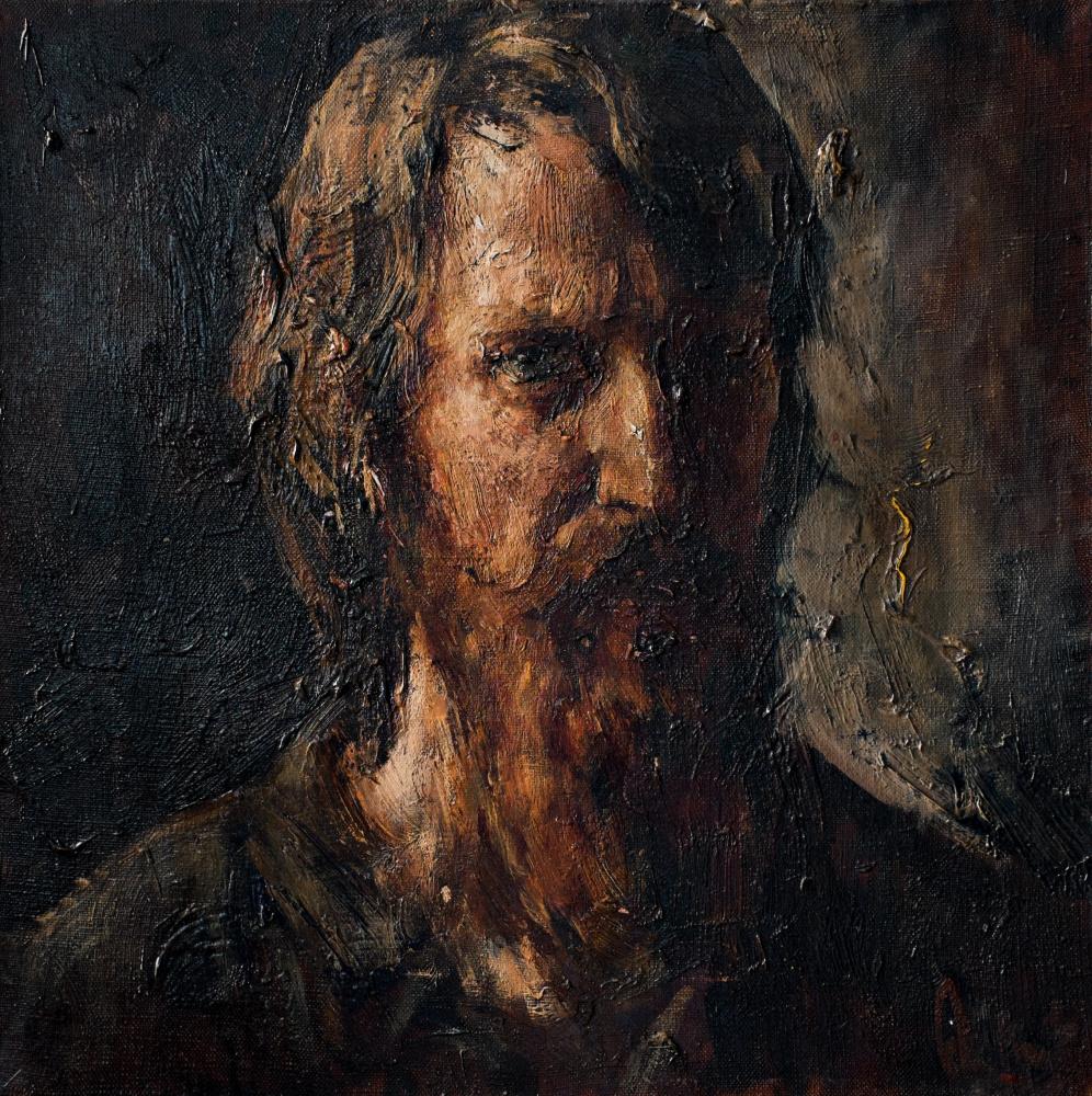 """Анатолий Шумкин. """"Автопортрет""""."""