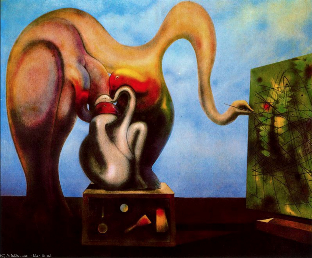 Max Ernst. Surrealism and painting