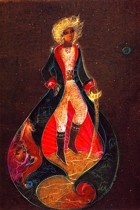 Susan Seddon Boulet. The Little Prince