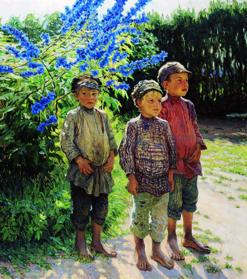 Nikolay Petrovich Bogdanov-Belsky. Peasant boys