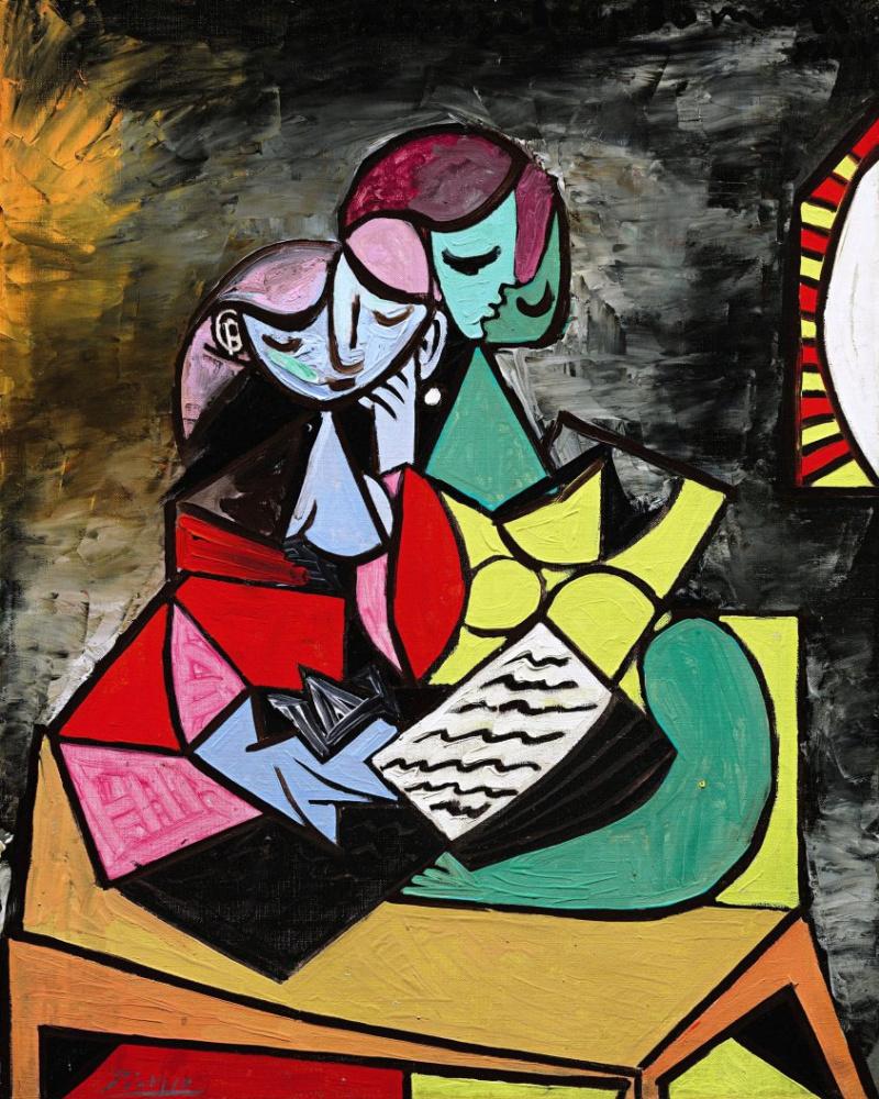 Пабло Пикассо. Два персонажа (Чтение)