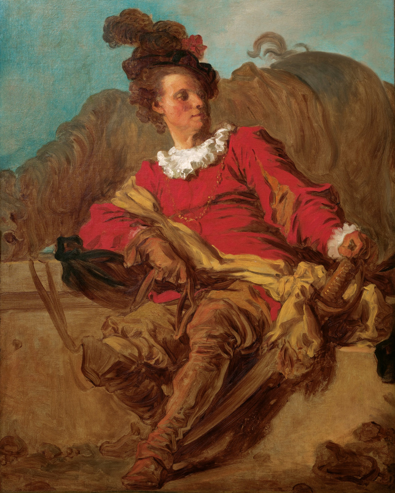Жан Оноре Фрагонар. Кавалер у фонтана