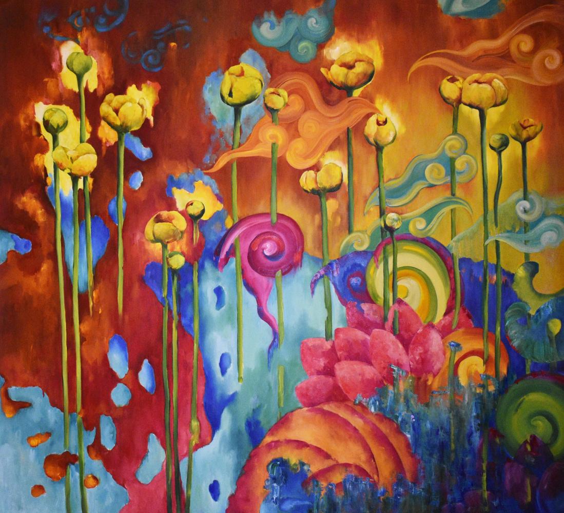 Marina Venediktova. LIFE is LIFE - original oil painting