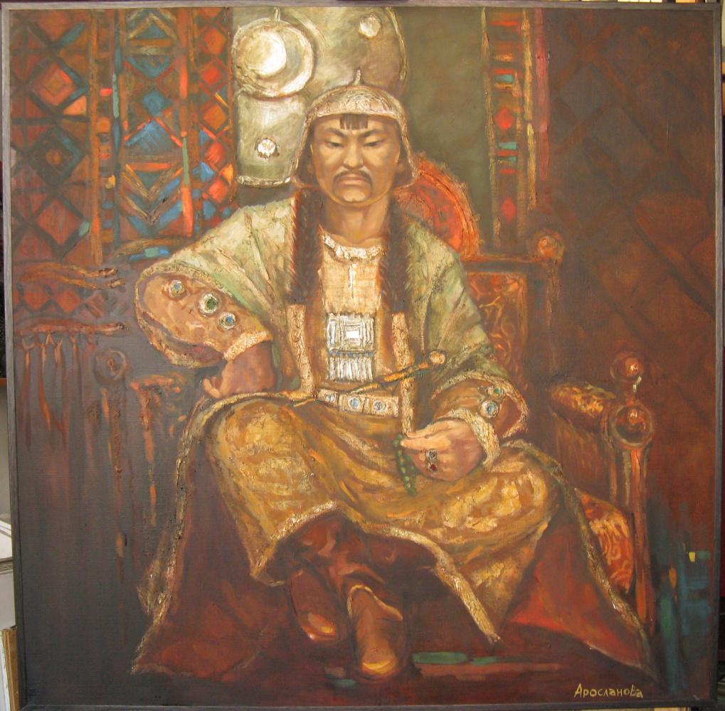 """Ирина Александровна Аросланова. """"Legend Of The Mound. Khan Qadir"""""""