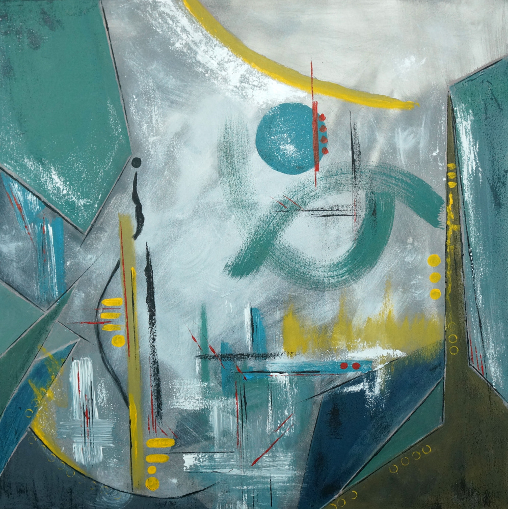 "Svetlana Tikhonova. Abstraction ""City"""