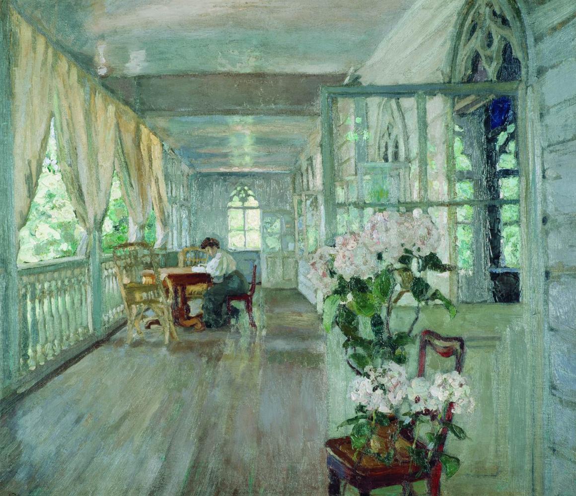 Stanislav Yulianovich Zhukovsky. Terrace manor