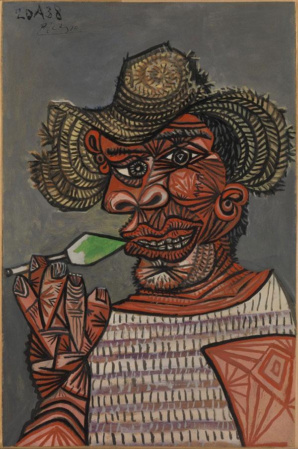 Пабло Пикассо. Человек с леденцом