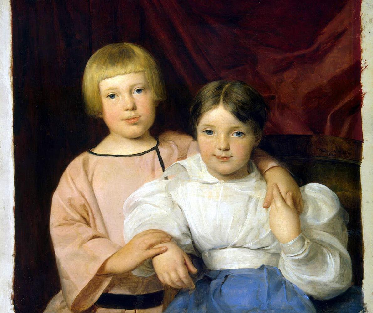 Фердинанд Георг Вальдмюллер. Дети