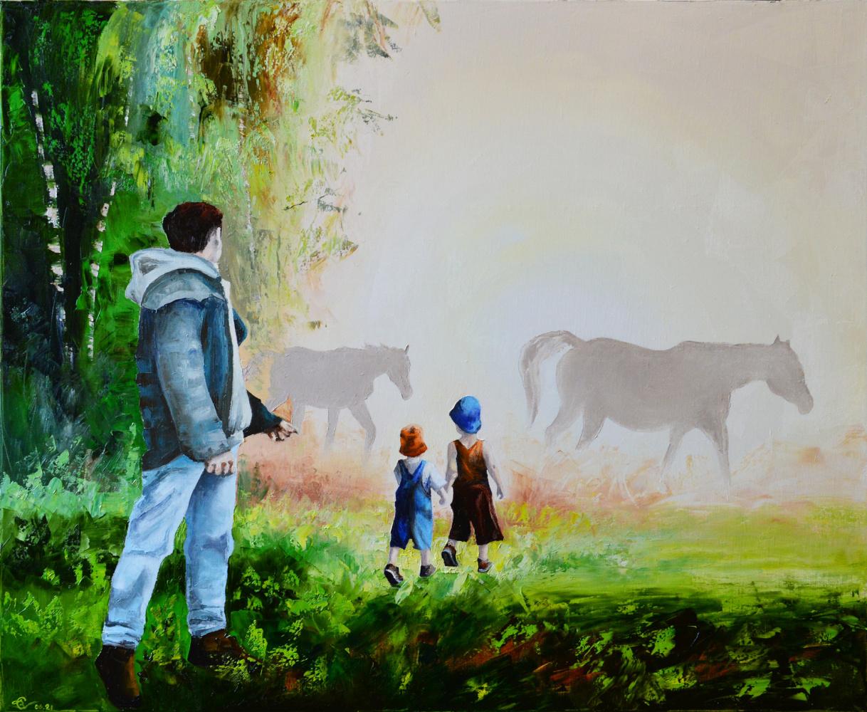 Vadim Anatolyevich Stolyarov. The world of a passing childhood