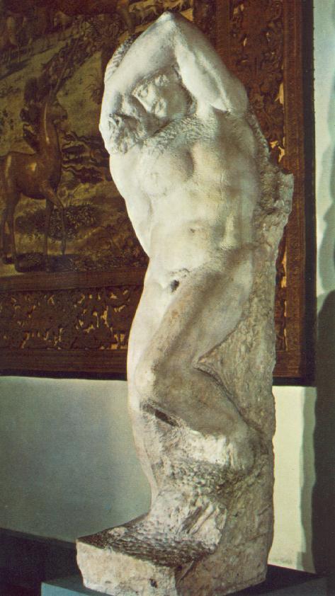 Микеланджело Буонарроти. Молодой раб
