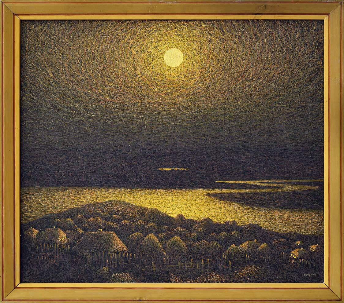 Ivan Stepanovich Marchuk. Night