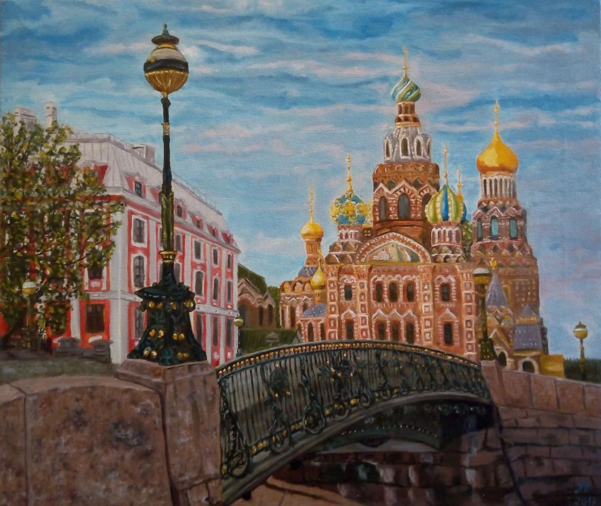 Nataly Yakubovskaya. Петербург Храм Спаса на Крови